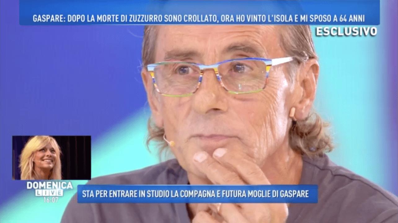Nino Formicola a Domenica Live: 'Alessandra conosciuta per colpa della mia ex'