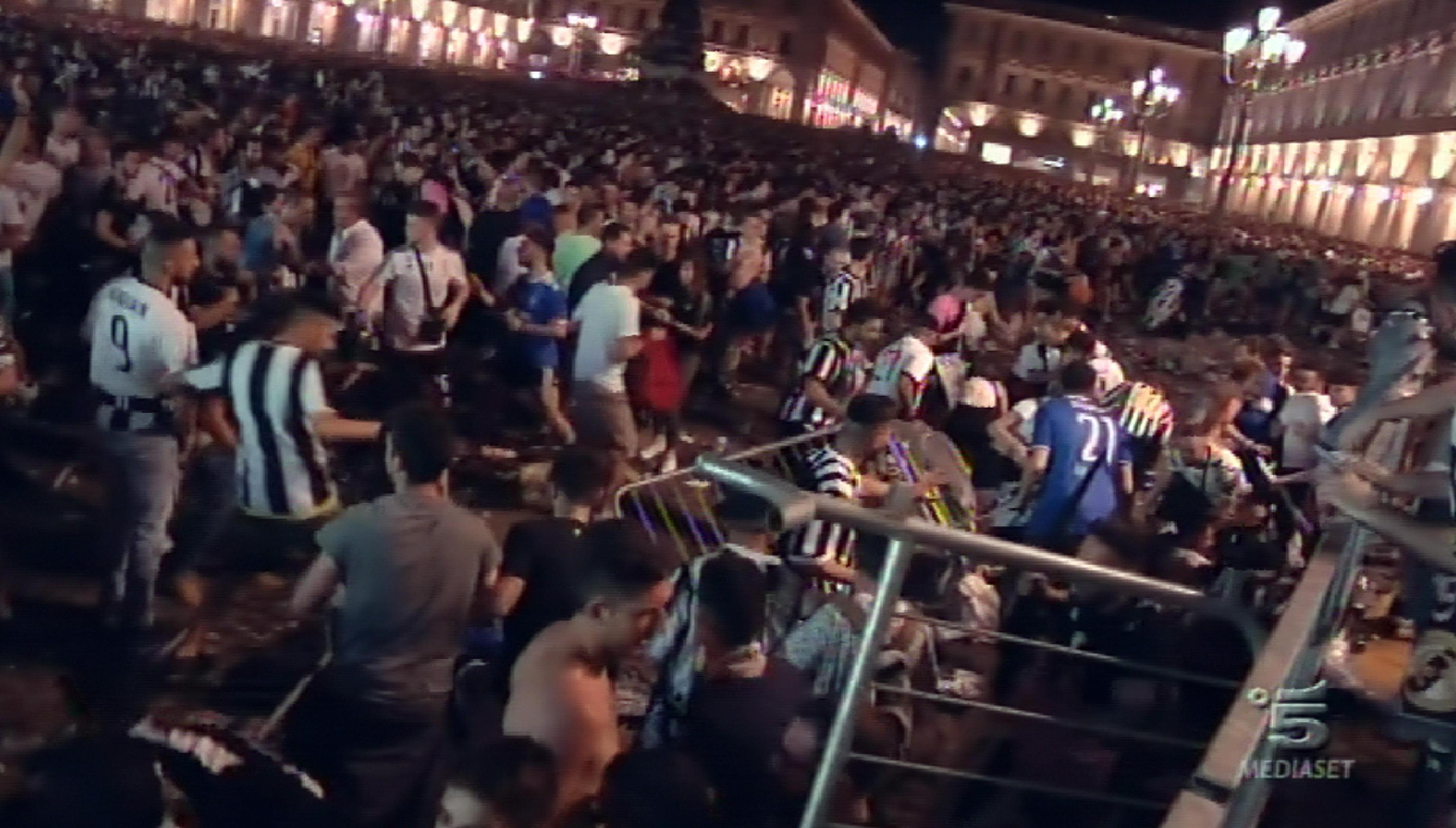 Scatenarono il panico in Piazza San Carlo, 8 gli arresti