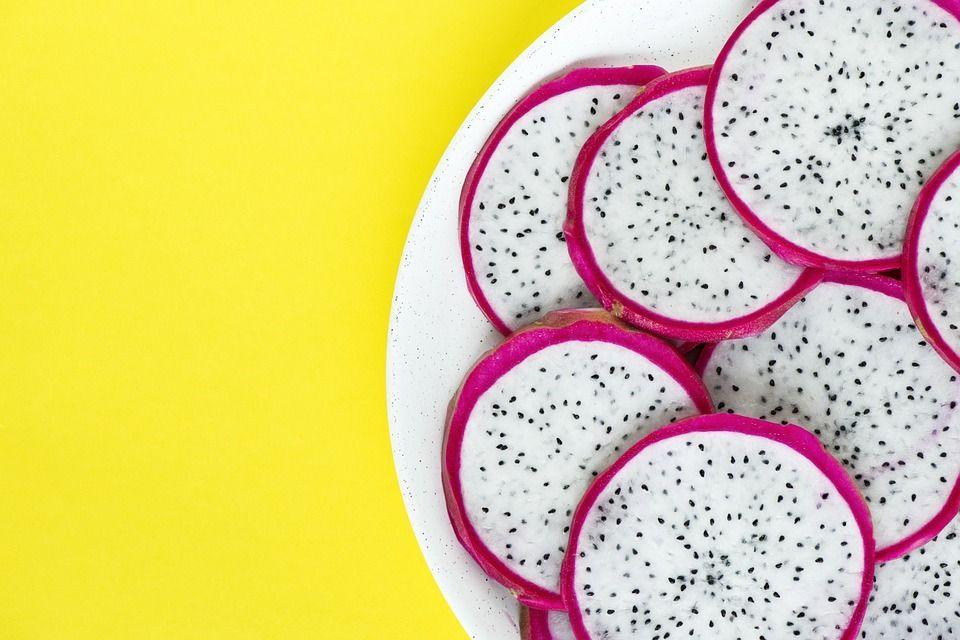 Frutta e verdura strana pitaya