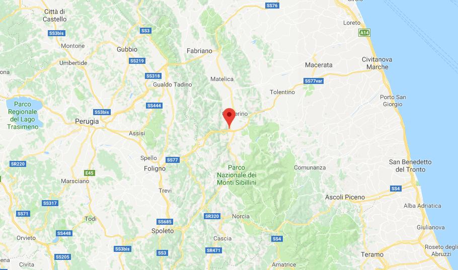 Terremoto Centro Italia, a Macerata forte scossa di magnitudo 3.9