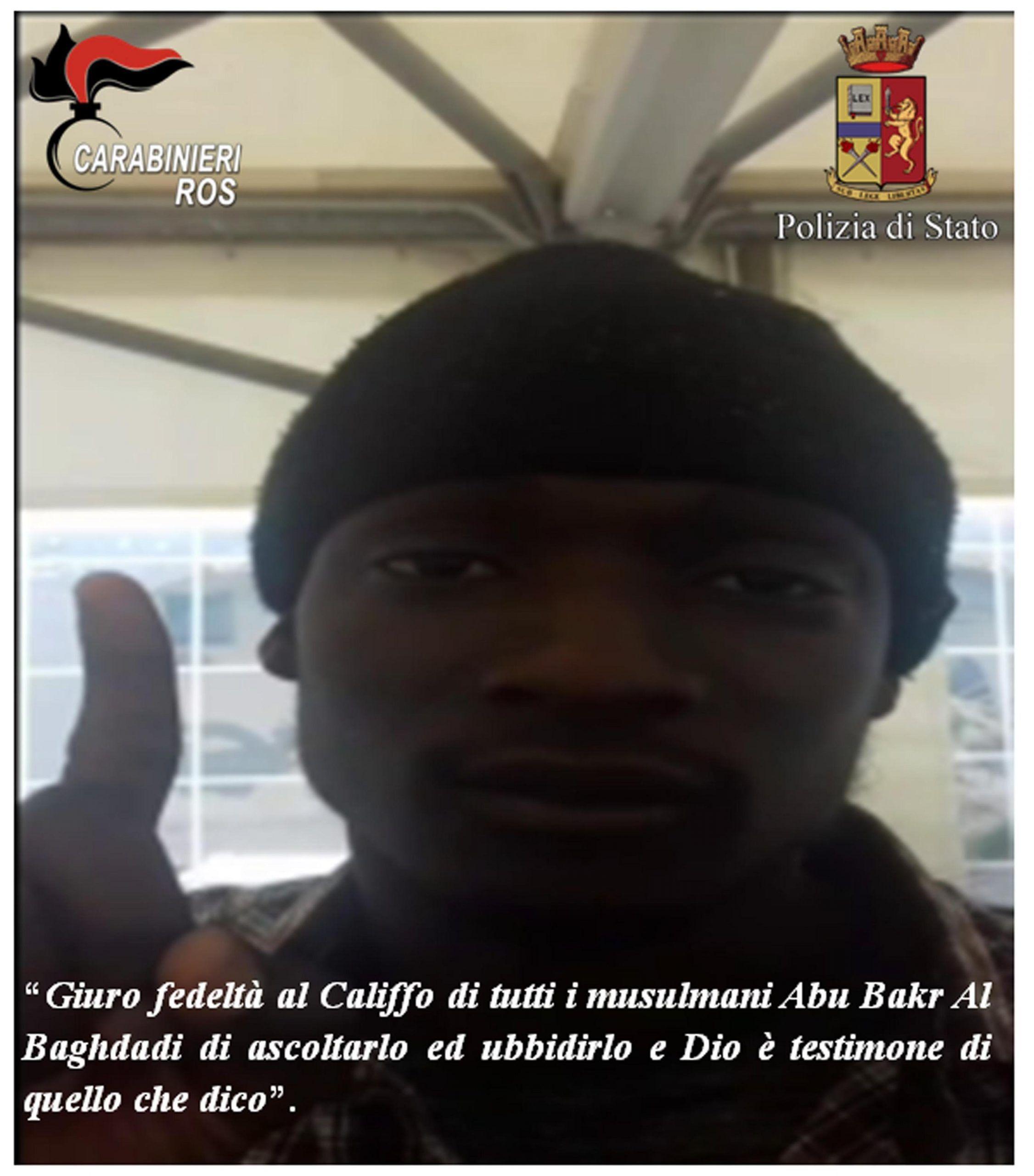 Terrorismo, arrestato migrante del Gambia, 'dovevo lanciarmi con auto sulla folla'