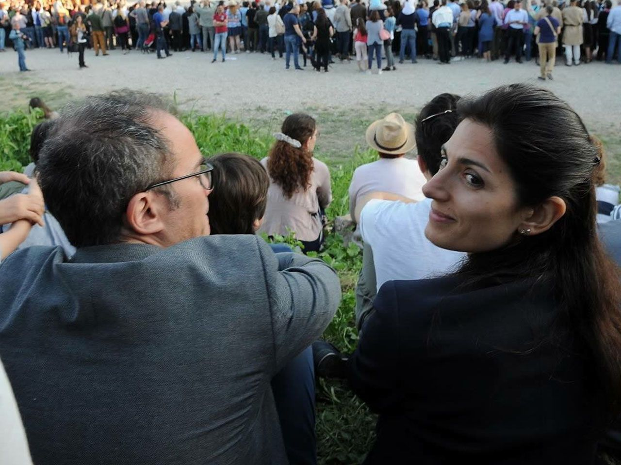 Virginia Raggi e il marito Andrea Severini sono tornati insieme
