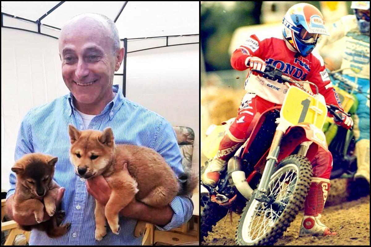 Star del motocross muore per salvare il cane