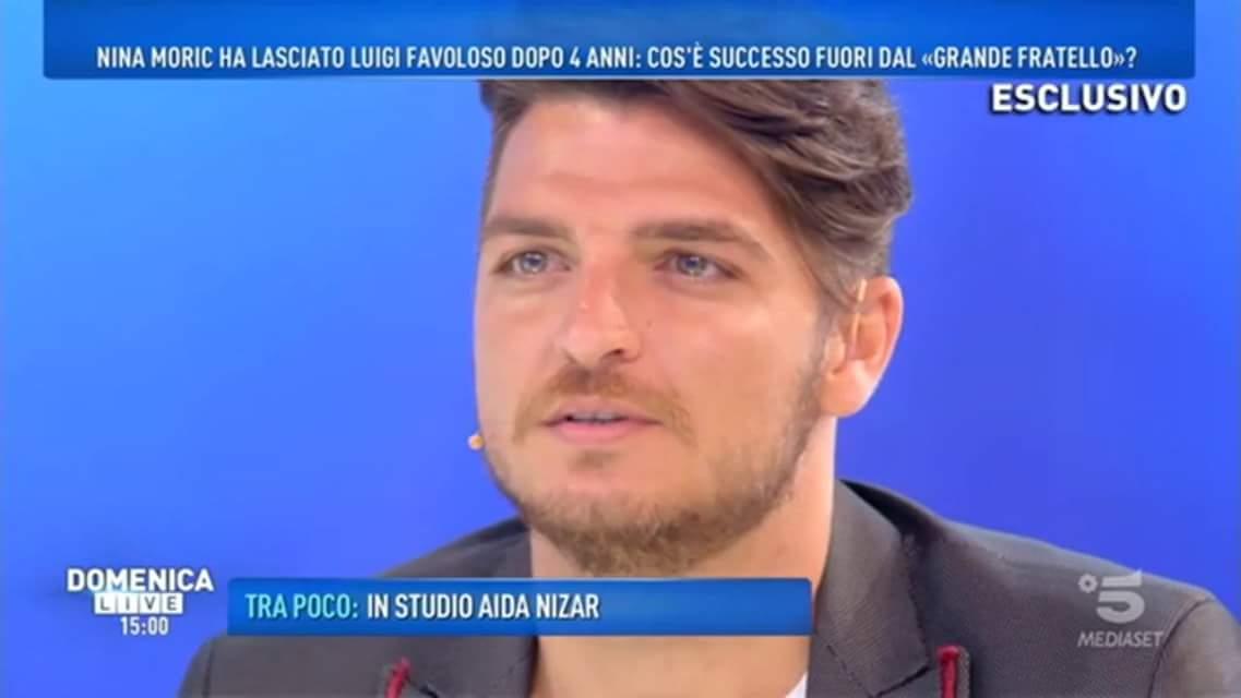 'Domenica Live', Luigi Favoloso chiede scusa