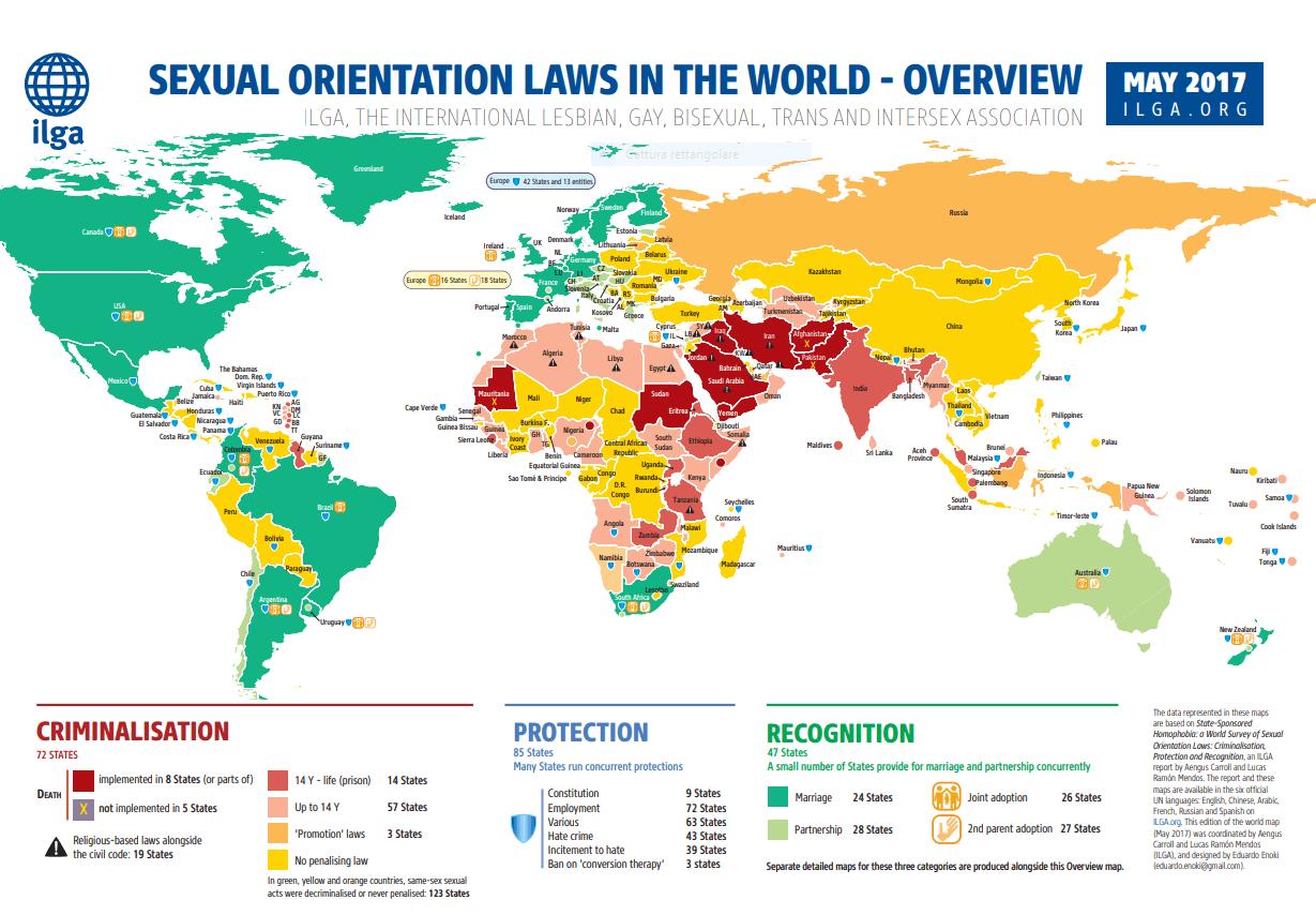 Ilga sexual discrimination
