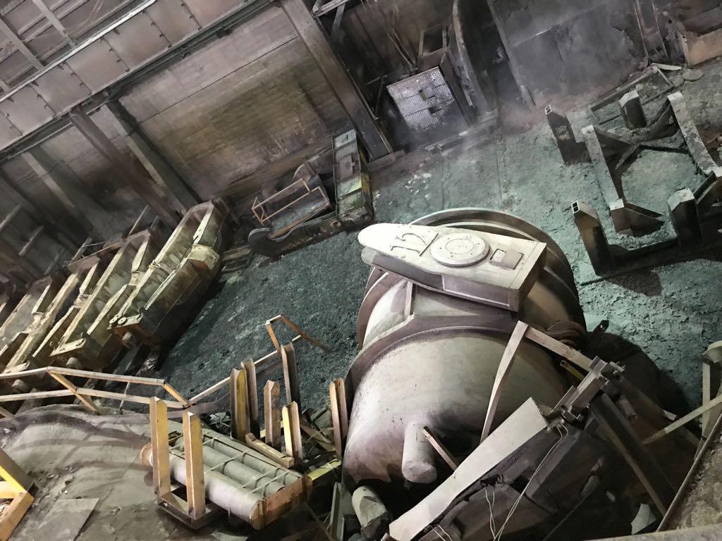 Incidente acciaieria:in fase spostamento contenitore acciaio