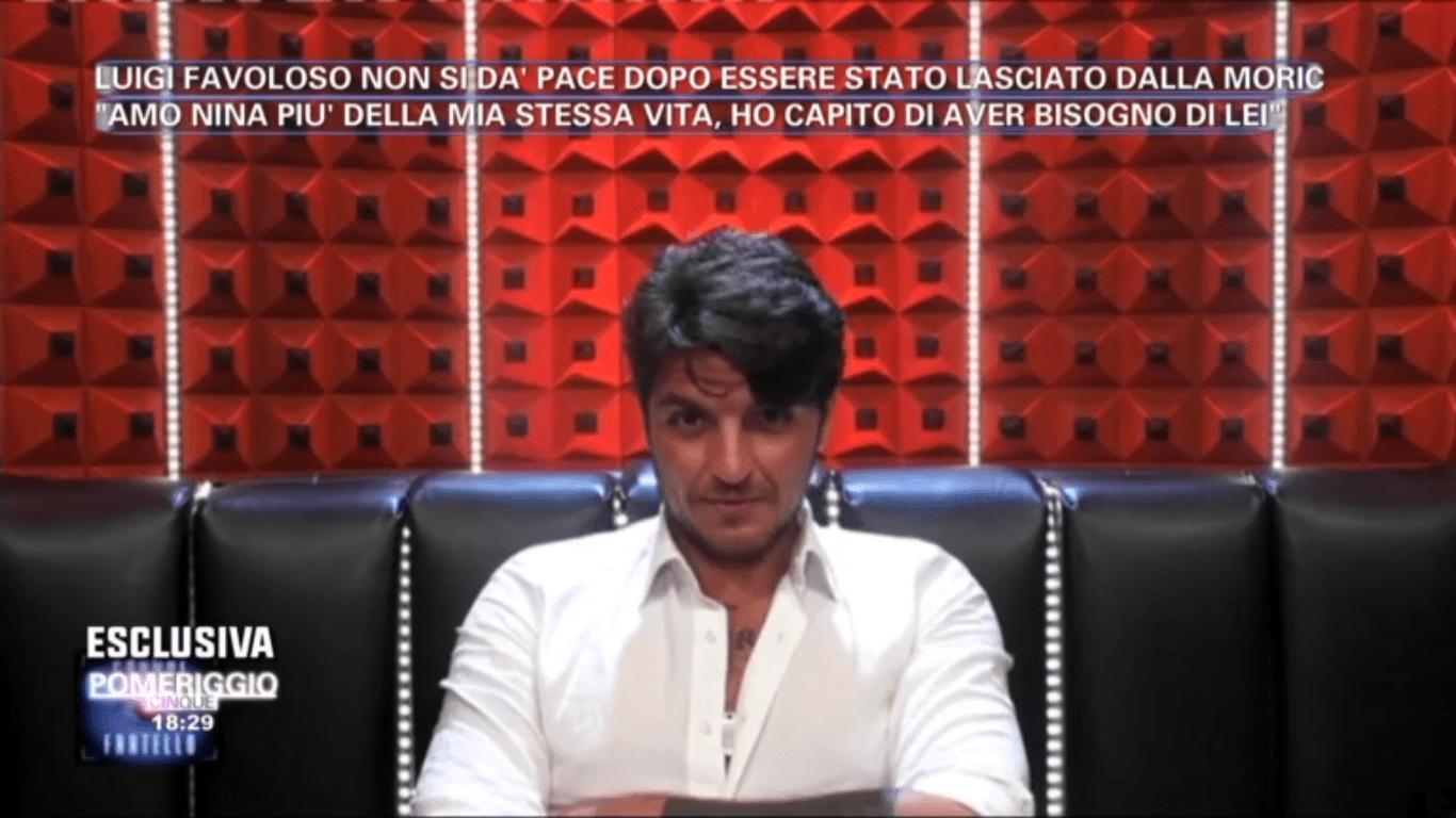 Gf15, Luigi Favoloso: 'Amo Nina Moric più della mia vita e vivrò per riconquistarla'