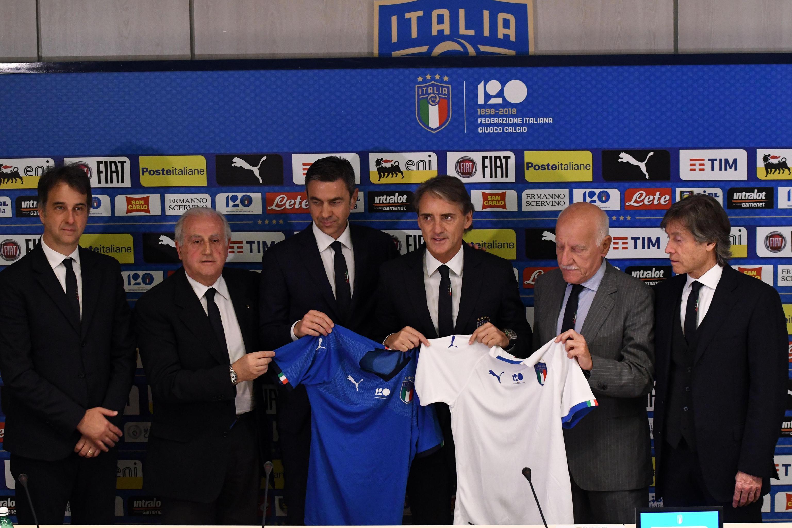Mancini nuovo allenatore della Nazionale italiana