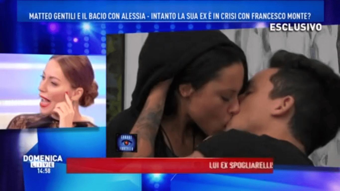 Gf15, il bacio tra Matteo Gentili e Alessia Prete