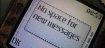 Memoria messaggi piena