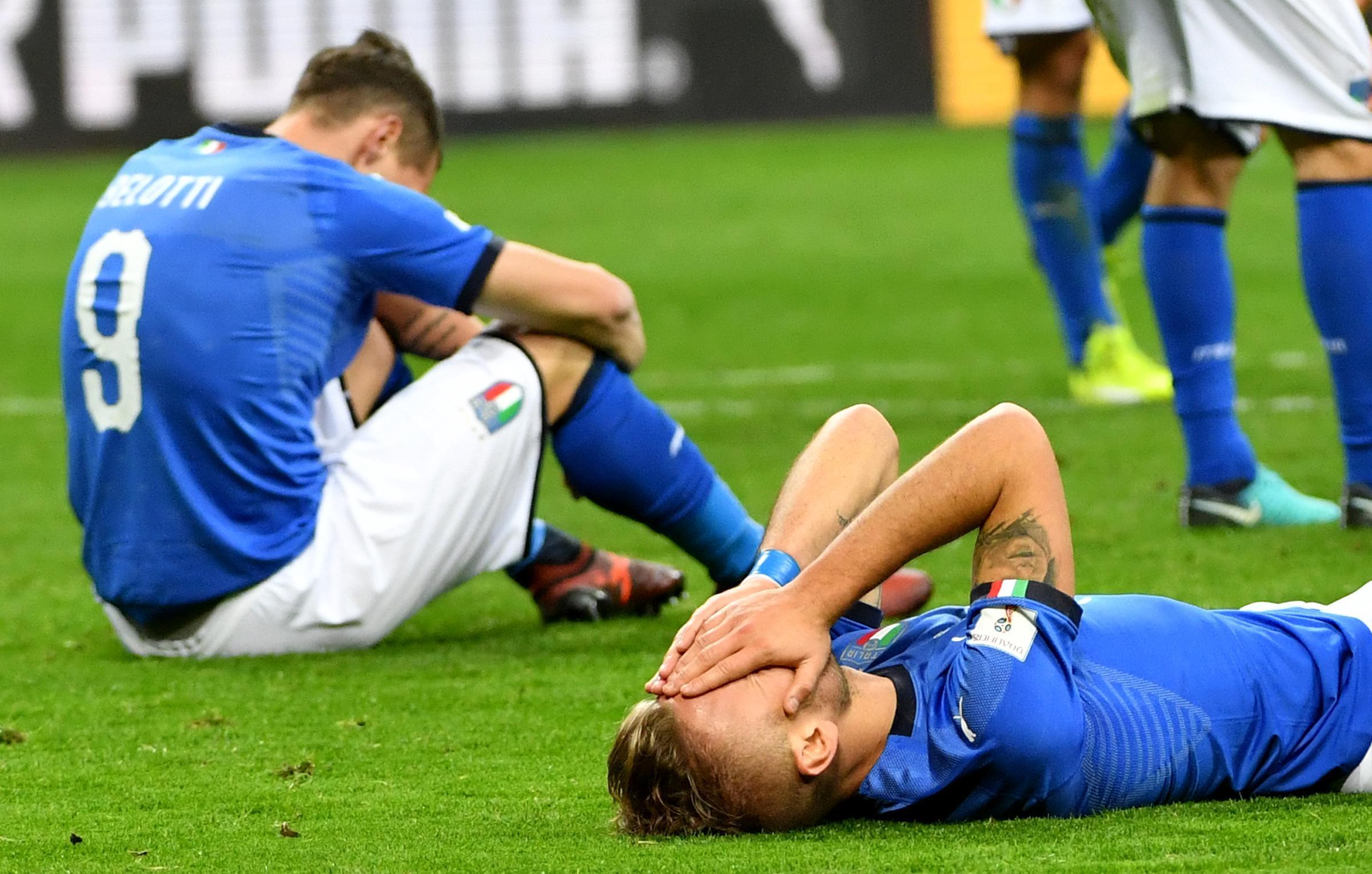 Italia fuori dai Mondiali 2018: il danno economico è di oltre un miliardo di euro