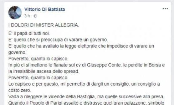 Post di Vittorio Di Battista