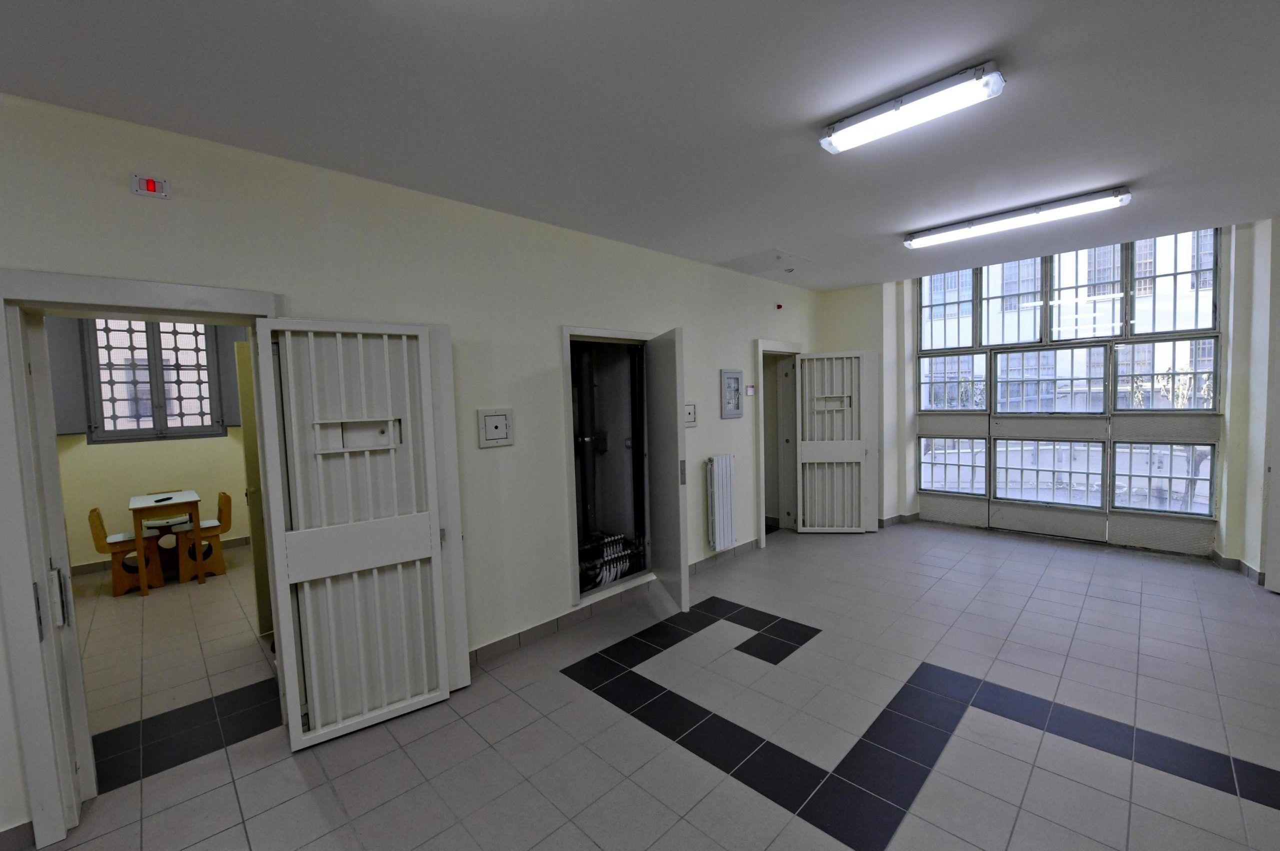 Un reparto del carcere di Poggioreale
