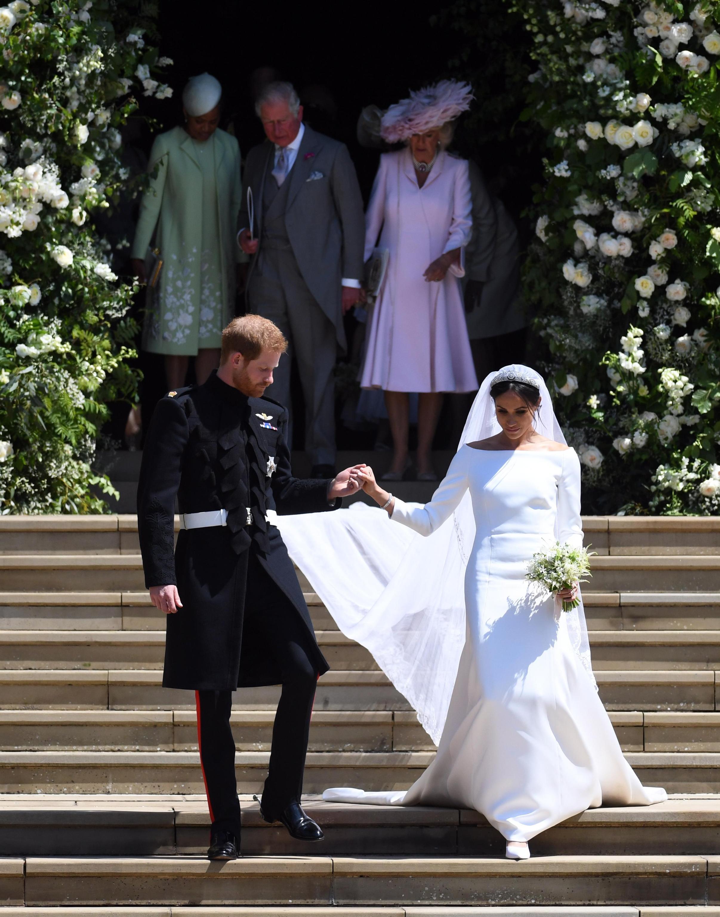Royal Wedding, tutti i dettagli sull'abito della sposa