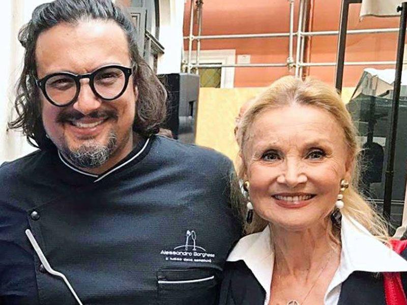 Barbara Bouchet: 'Mio figlio Alessandro Borghese ha rischiato di morire nel naufragio dell'Achille Lauro'