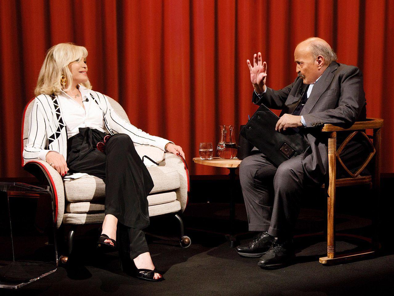 Amanda Lear a L'Intervista