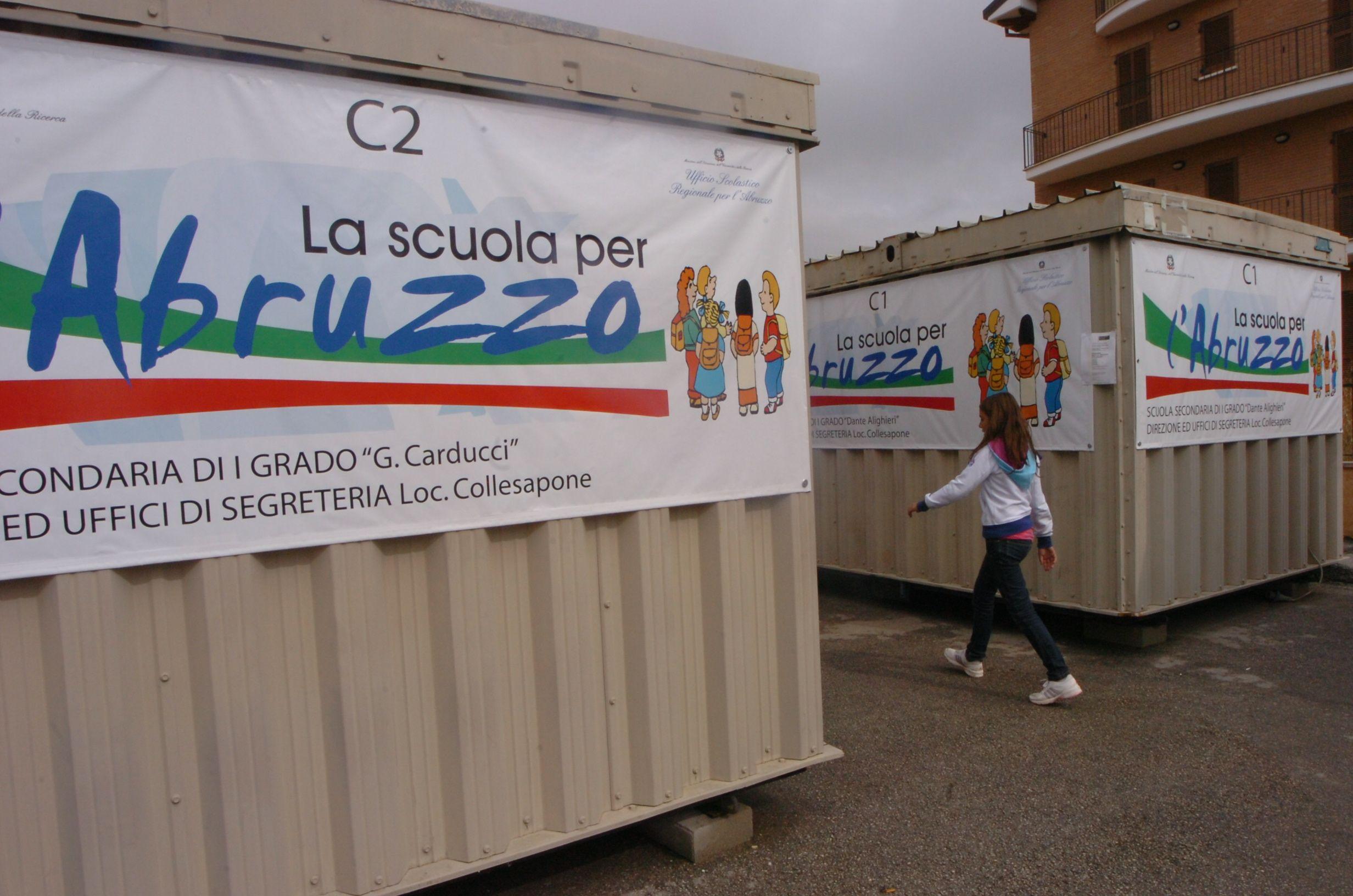 L'Aquila: dopo il terremoto nessuna scuola è stata ricostruita
