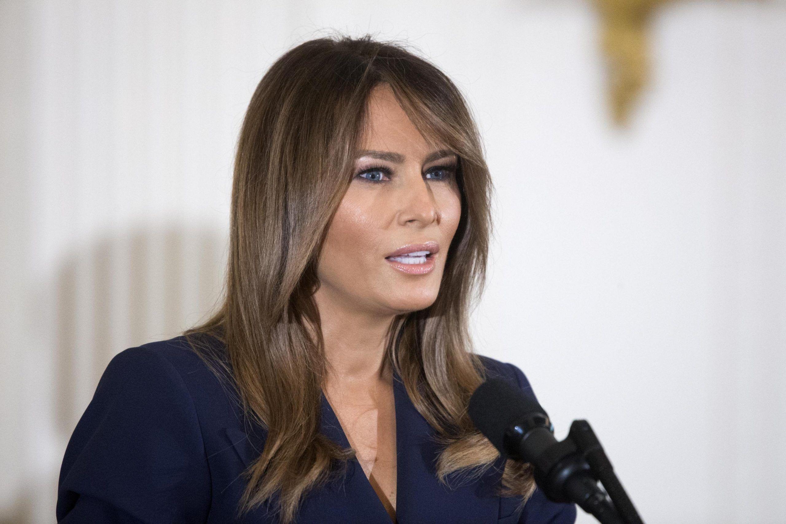 Melania Trump operata ad un rene, 'patologia benigna'