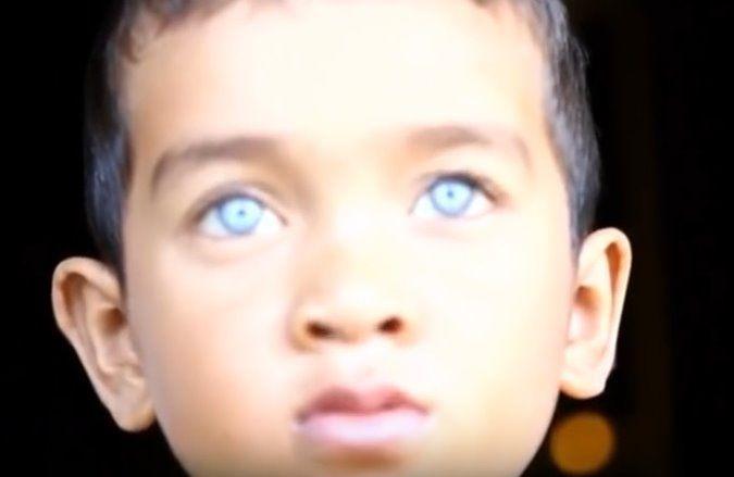 bambino marocco