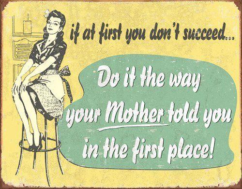 cartello mamma