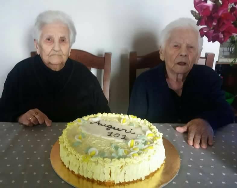 Gemelle centenarie in Sardegna: hanno spento 101 candeline
