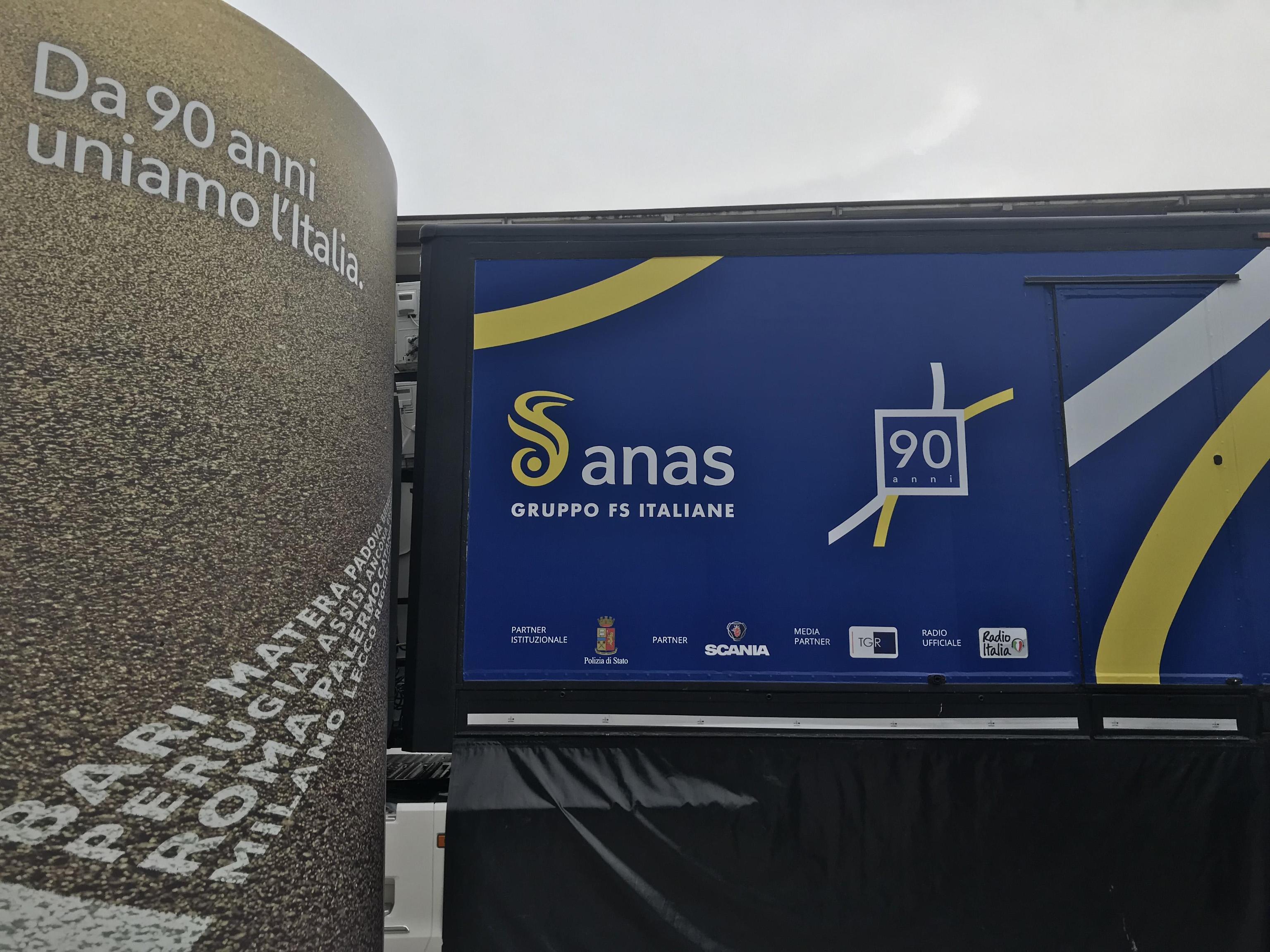 'Congiunzioni', il roadshow di Anas in viaggio per l'Italia