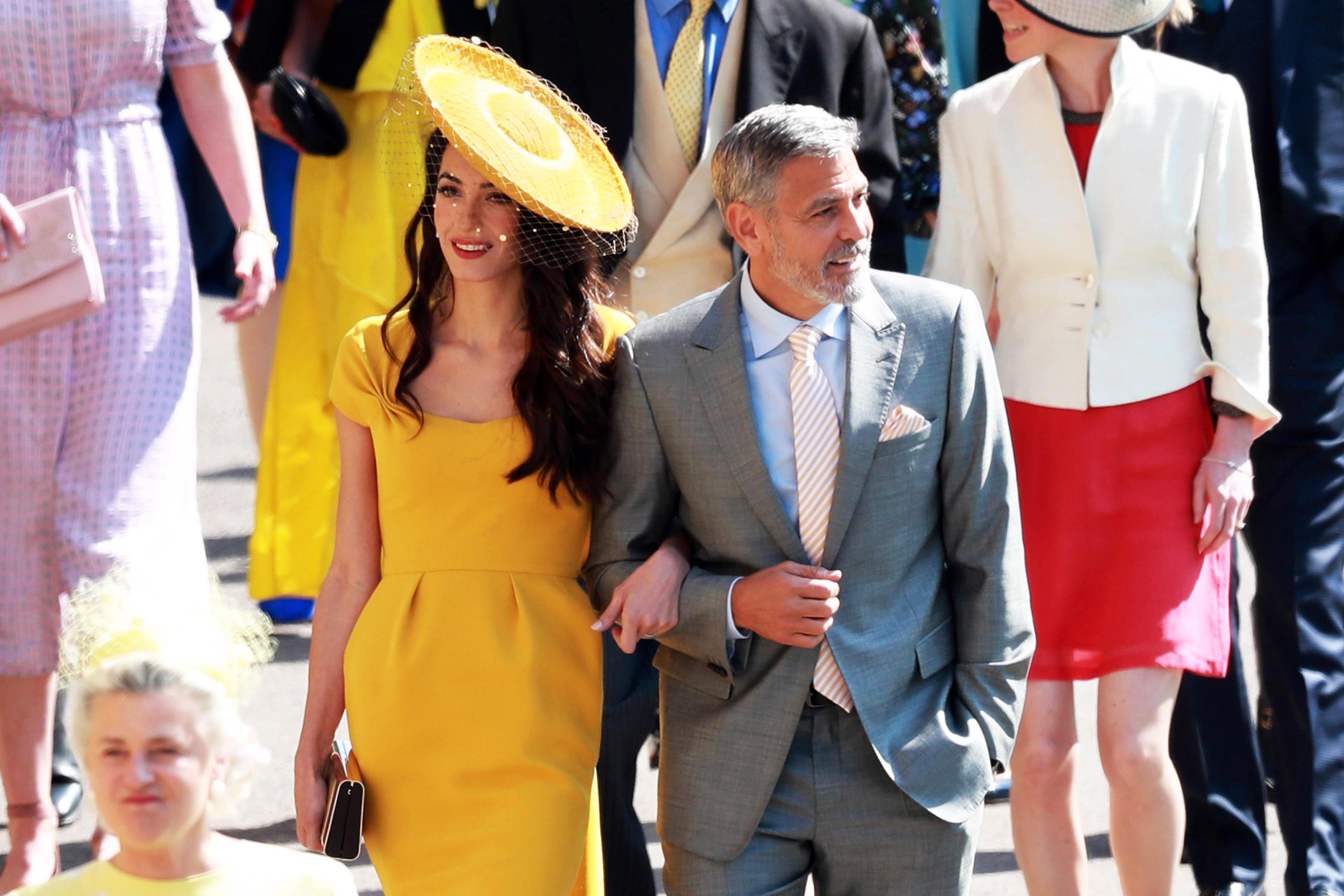 Royal Wedding, Amal e George Clooney fermati da un poliziotto