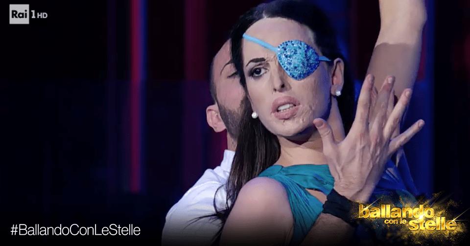 'Ballando con le stelle', polemica per Gessica Notaro in finale