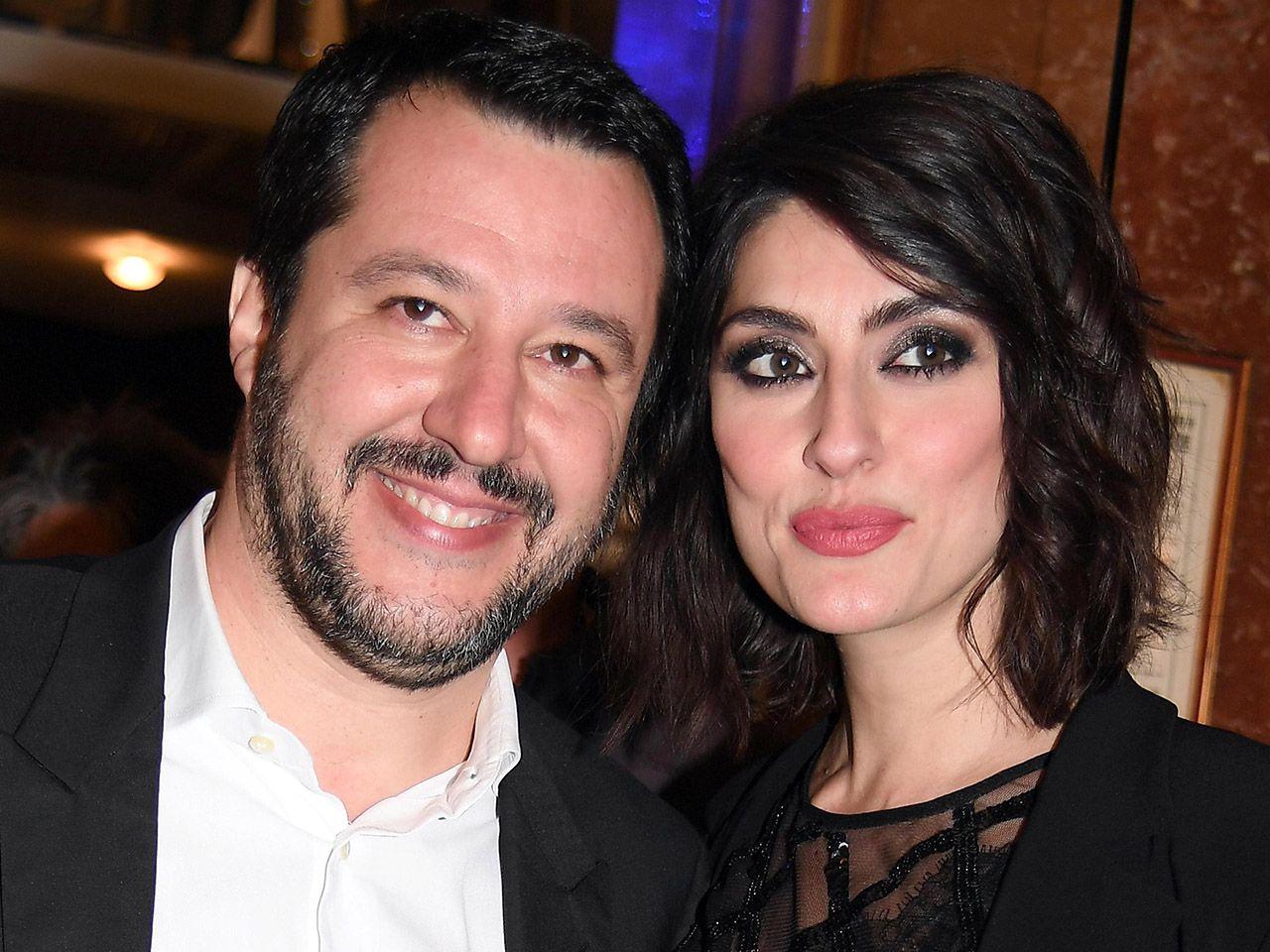 Elisa Isoardi dedica Matteo Salvini