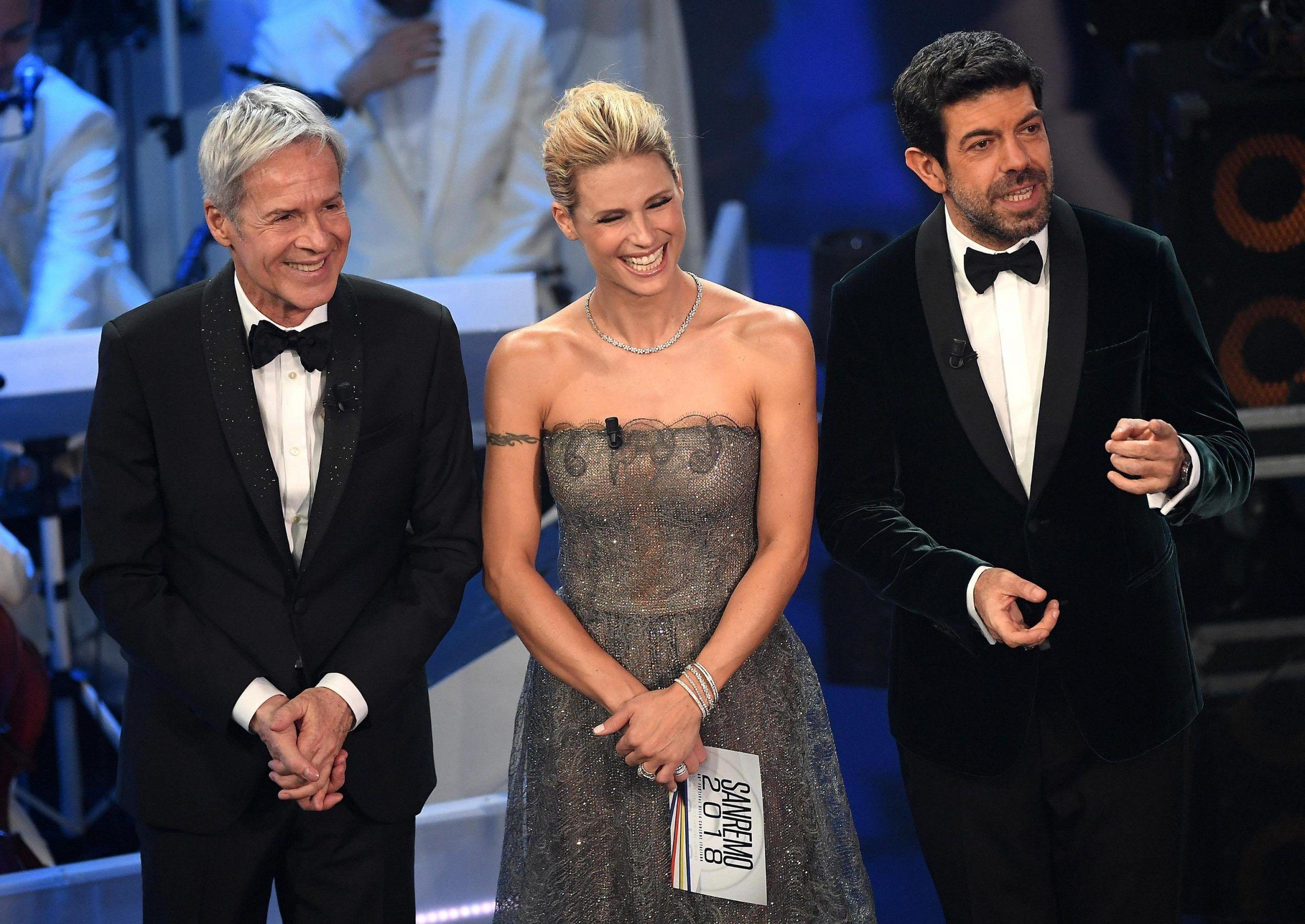 Festival di Sanremo, Michelle Hunziker: 'Lo rifarei'