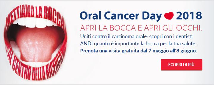 Visite mediche gratis contro il cancro alla bocca