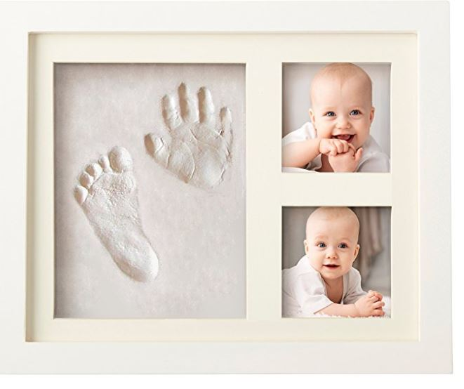 porta foto con impronte