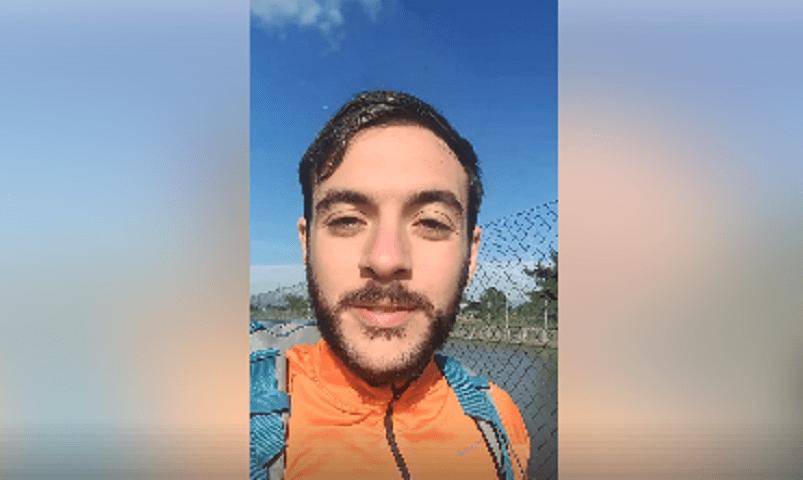 Da Torino a Foggia, neolaureato in ingegneria percorre a piedi 800 chilometri