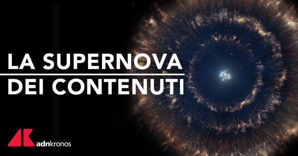 Il futuro della comunicazione on line nel convegno 'Supernova dei contenuti'