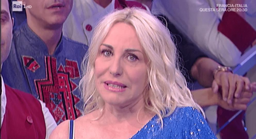 Antonella Clerici in lacrime a La prova del cuoco