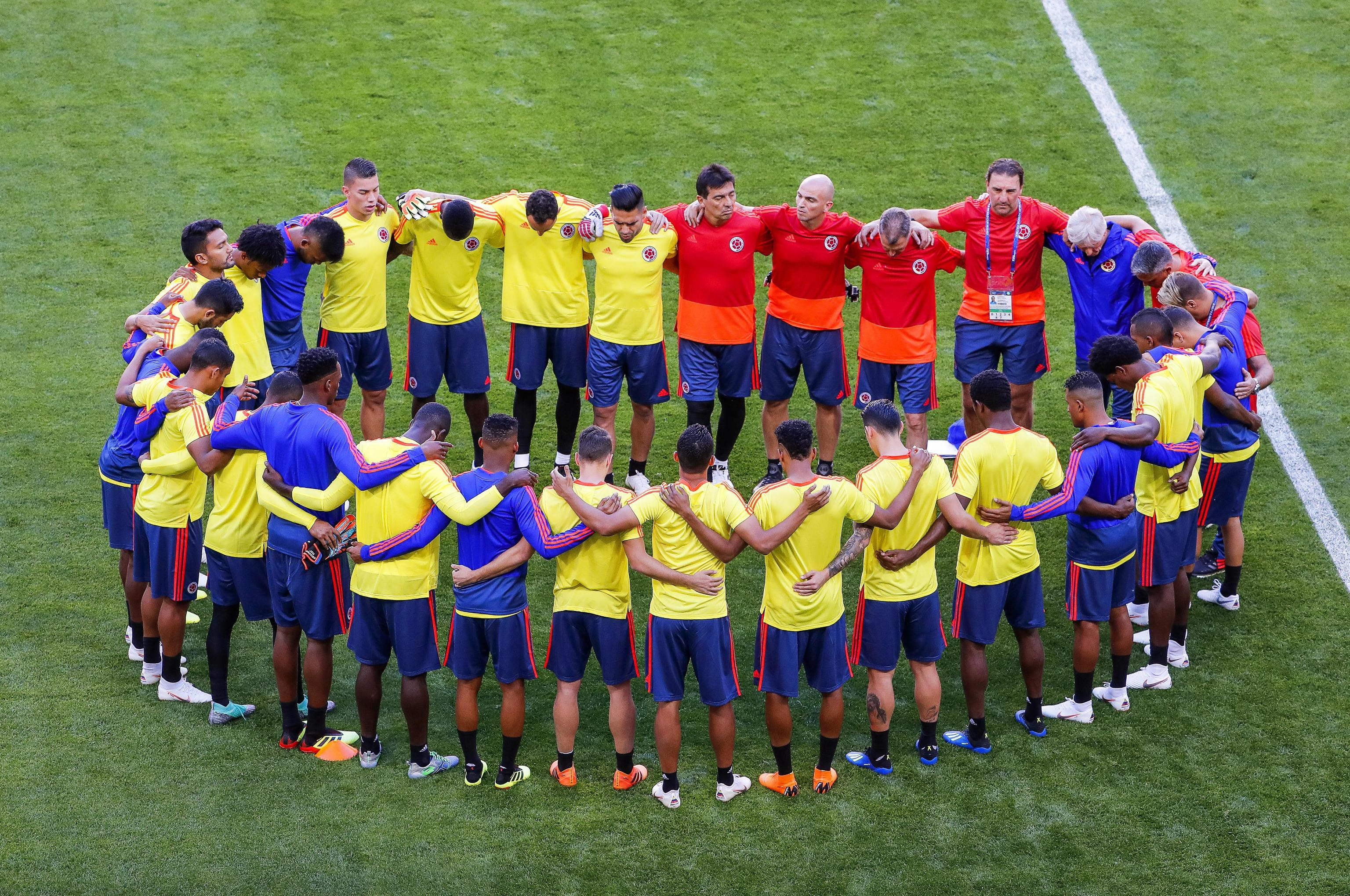 Colombia training