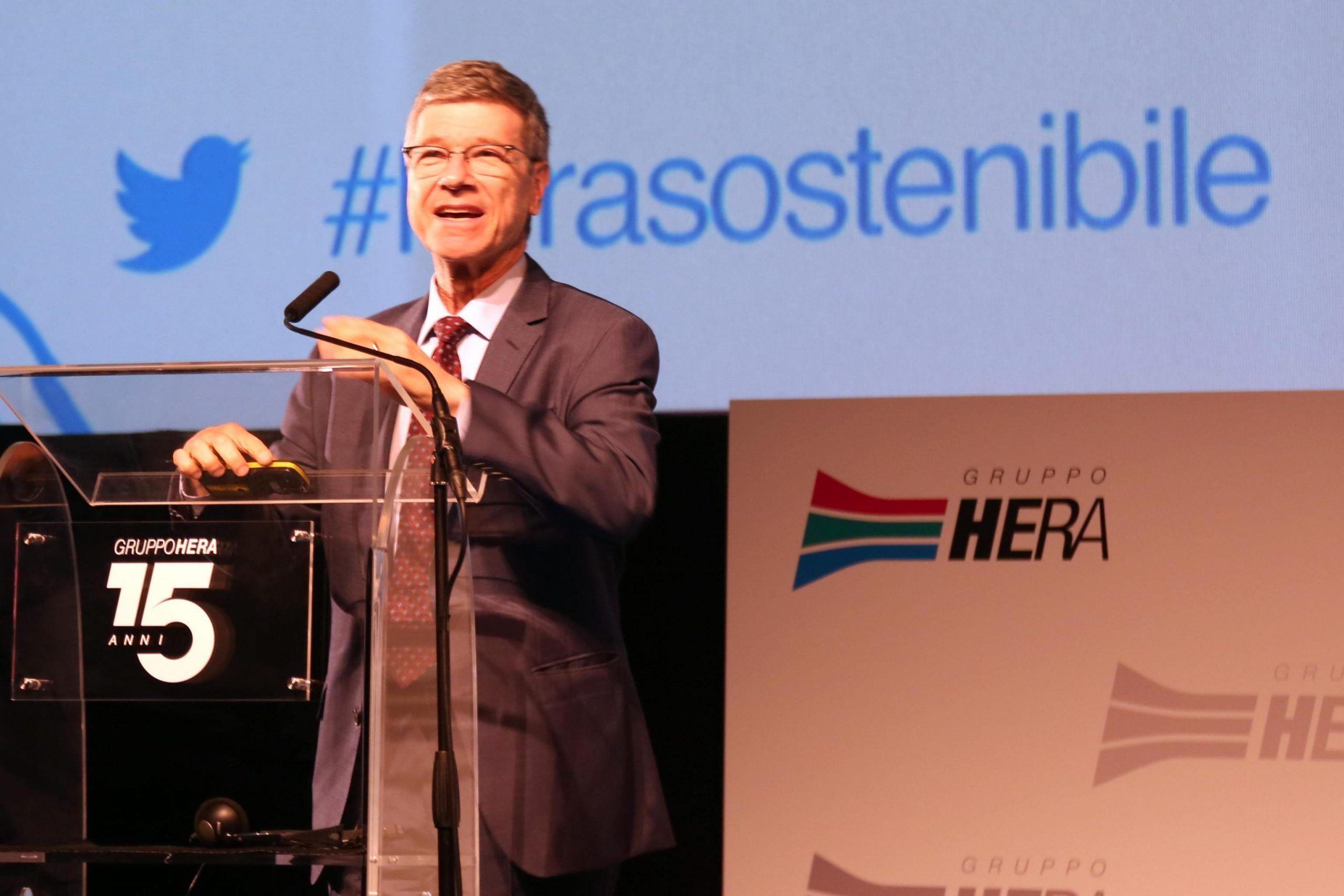 Presentazione del bilancio di sostenibilità Hera a Bologna