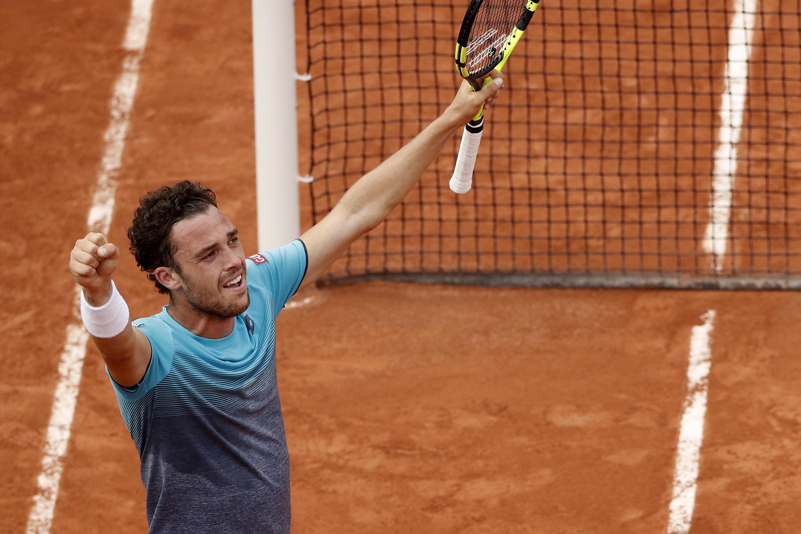 Chi è Marco Cecchinato: il tennista italiano sorpresa del Roland Garros