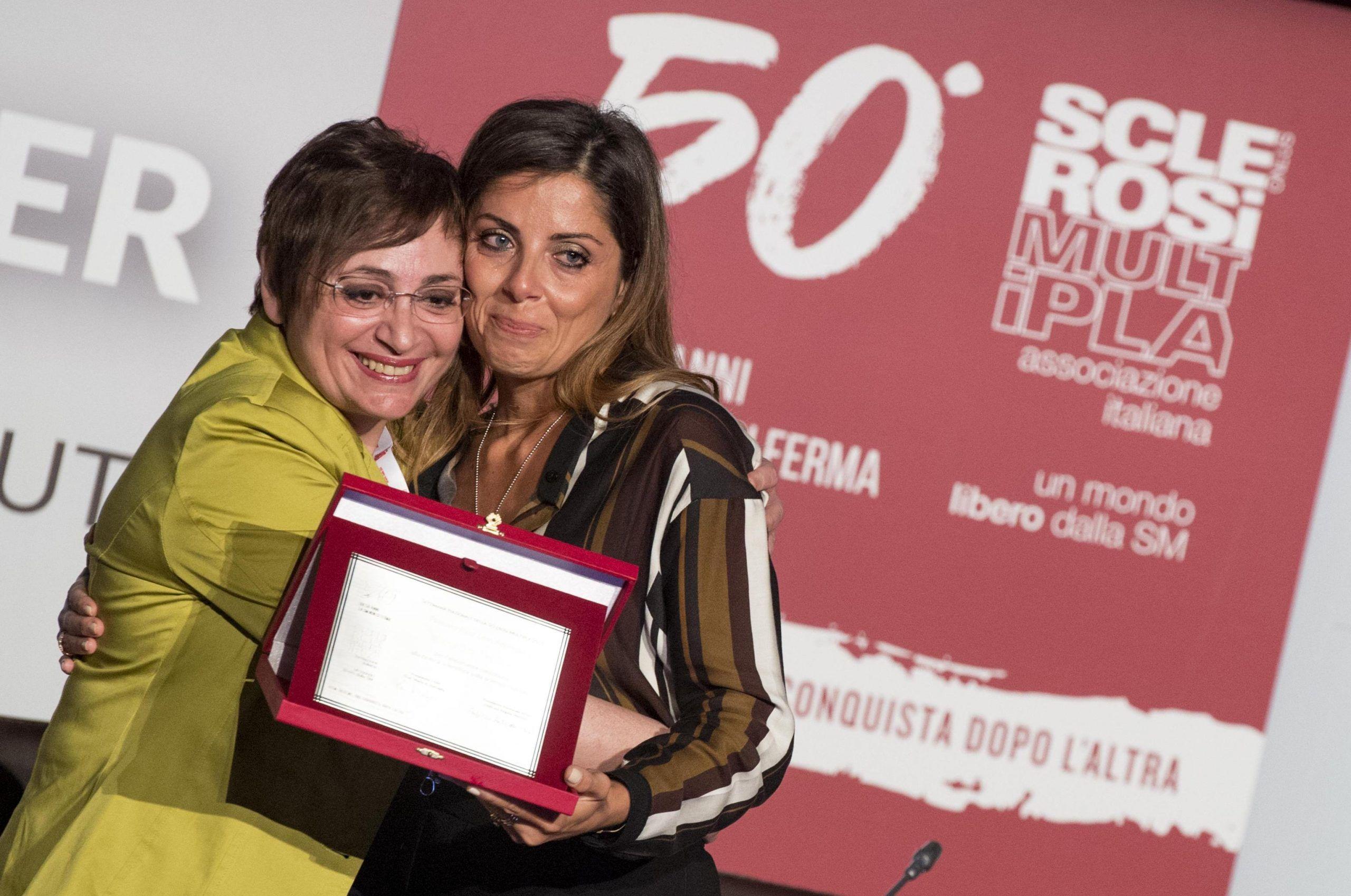 Convegno AISM FISM premiata Veronica De Rosa