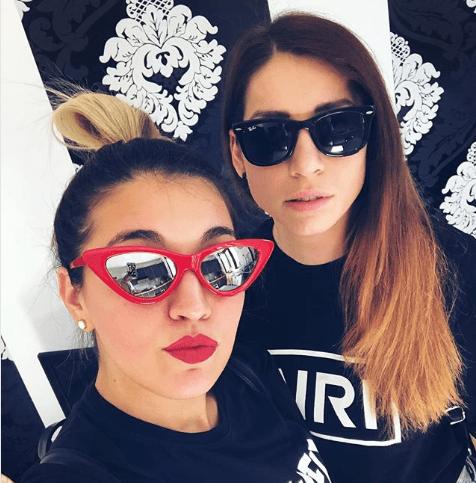 Veronica Satti e la fidanzata Valentina