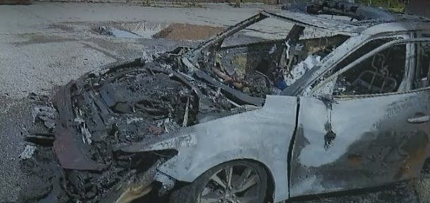 auto bruciata da Samsnung Galaxy S8
