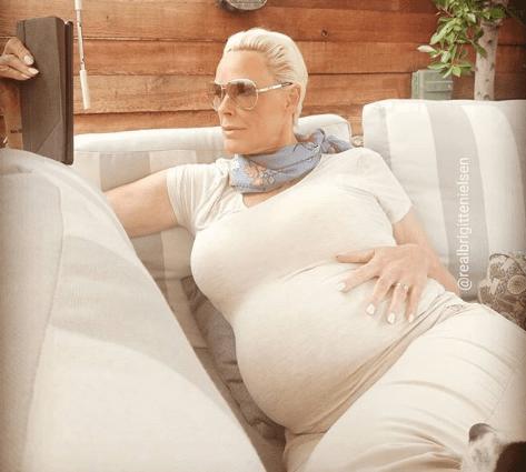 Brigitte Nielsen è diventata di nuovo mamma