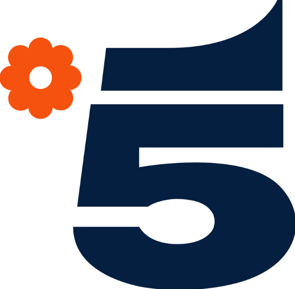 canale 5 nuovo logo