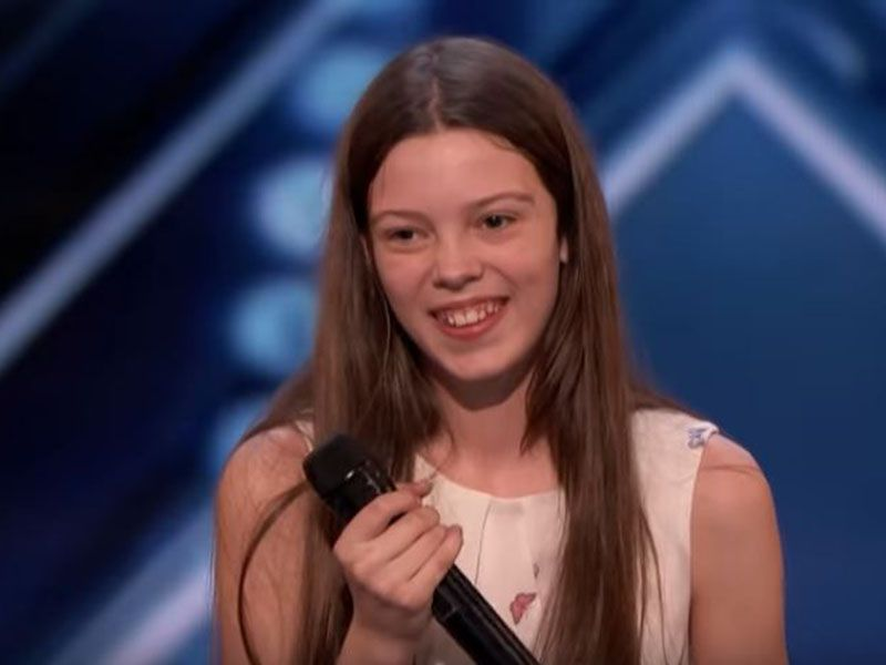 Courtney Hadwin: una cantante di 13 anni incanta America's Got Talent