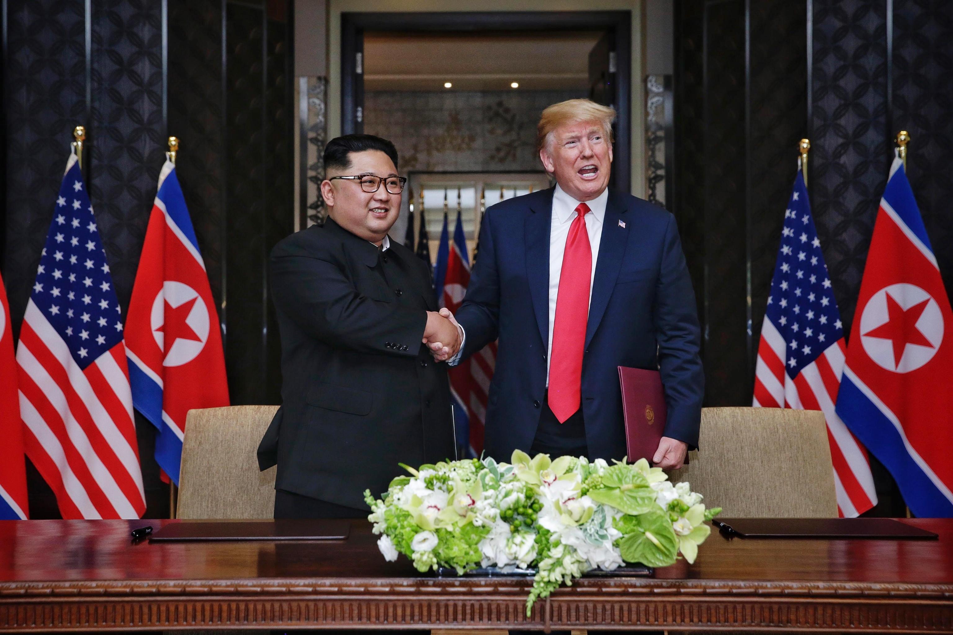 Donald Trump e Kim Jong-un, incontro storico a Singapore