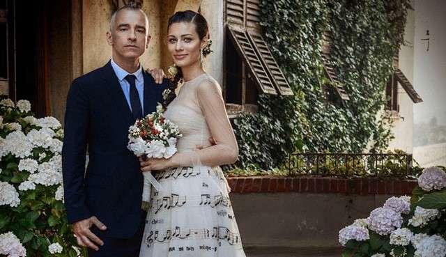 Eros Ramazzotti dedica un post a Marica Pellegrinelli per l'anniversario di nozze