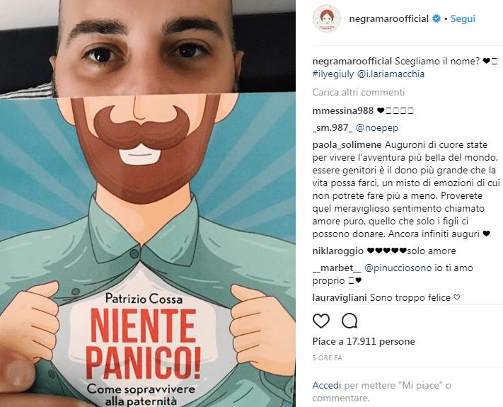 Giuliano Sangiorgi dei Negramaro annuncia che diventerà papà
