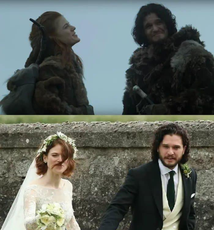 Il Trono di Spade a nozze: Jon Snow e Ygritte si sono sposati