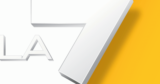 la 7 logo