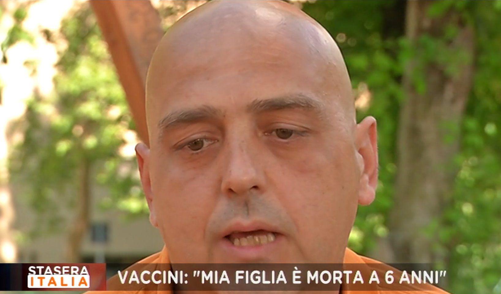 padre Giulia bambina morta di meningite